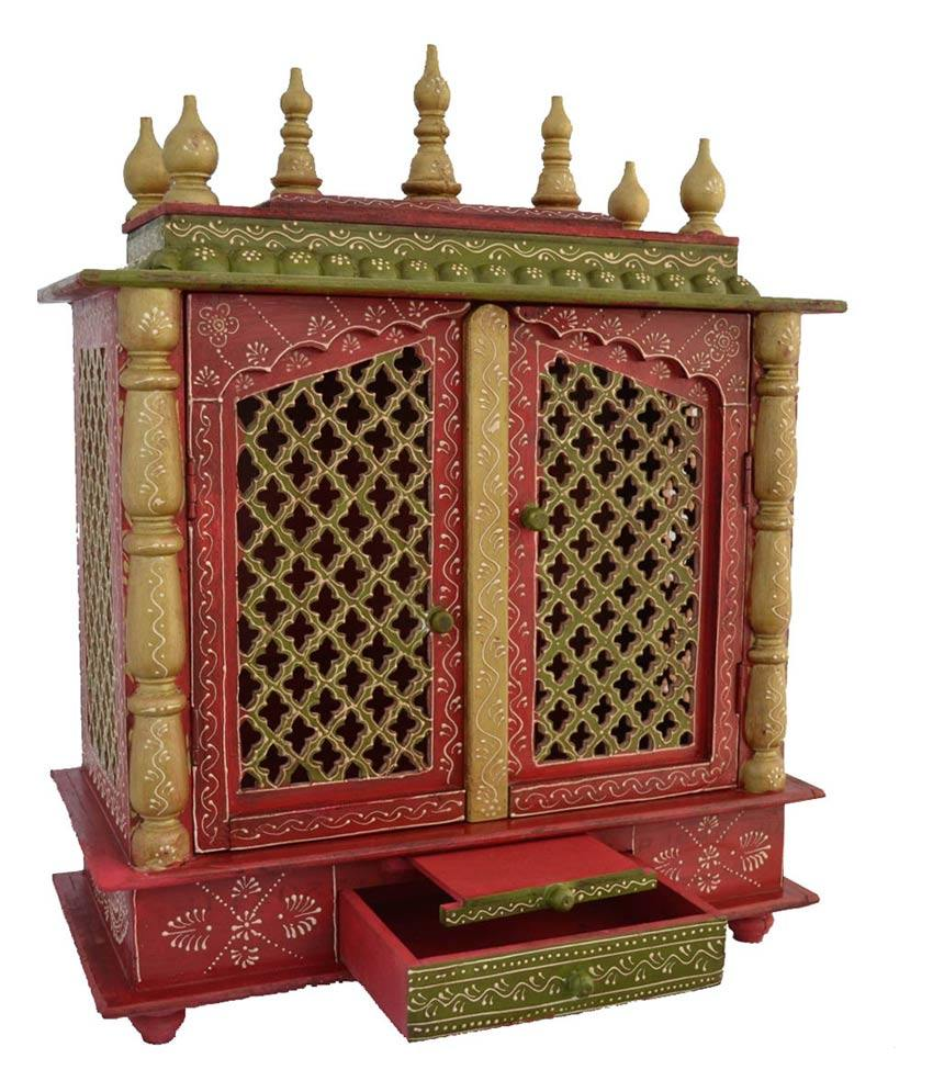 Home Temple/Pooja Mandir/Wooden temple/Temple for Home/Mandap ...