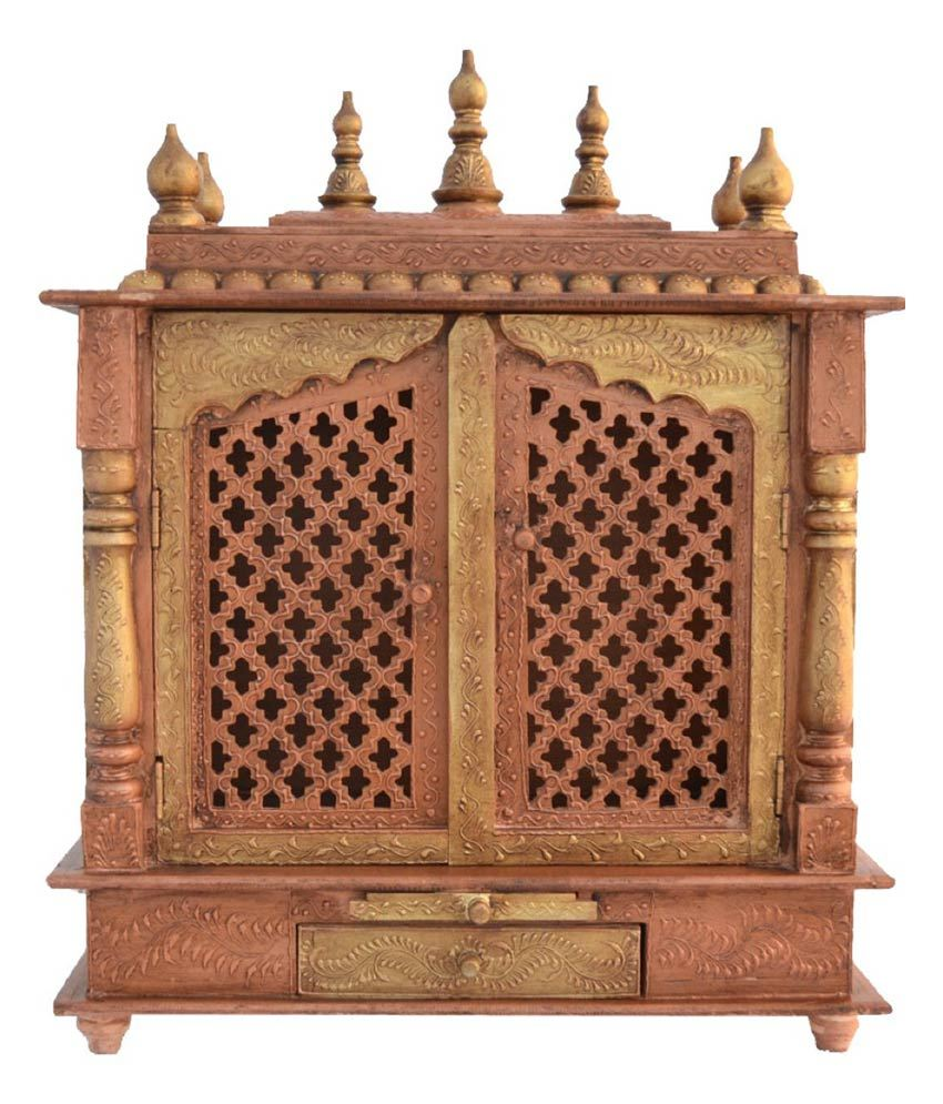 » Home Temple/ Pooja Mandir/ Wooden Temple/ Temple For